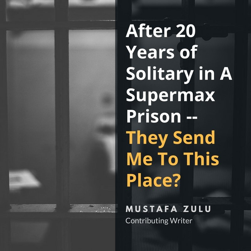 "are solitary confinement and super max prisons Inmates sent to the prison's ""supermax"" unit end up in one of 60 solitary cells, where they spend 23 hours a day in a space smaller than the average bedroom."
