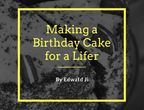 A Lifer Makes a No-Bake Sweet for Another Lifer's Birthday