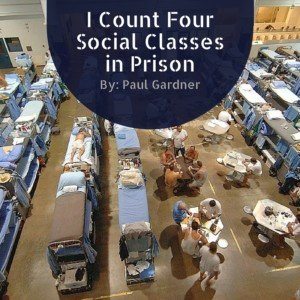 I Count Four Social Classes in Prison