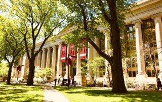 Harvard Law school by Emily Karakis